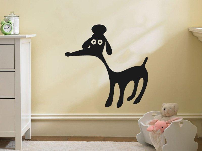 Samolepky na zeď Pejsek 006 - Samolepící dekorace a nálepka na stěnu