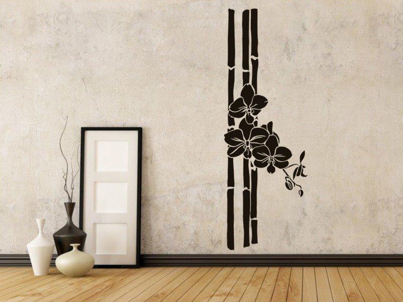 Samolepky na zeď Bambus 005 - Samolepící dekorace a nálepka na stěnu