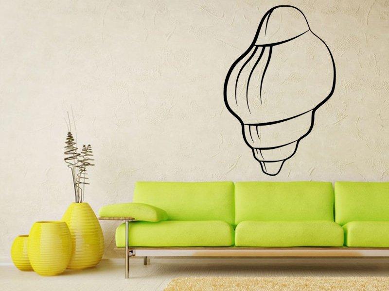 Samolepky na zeď Mušle 0287 - Samolepící dekorace a nálepka na stěnu