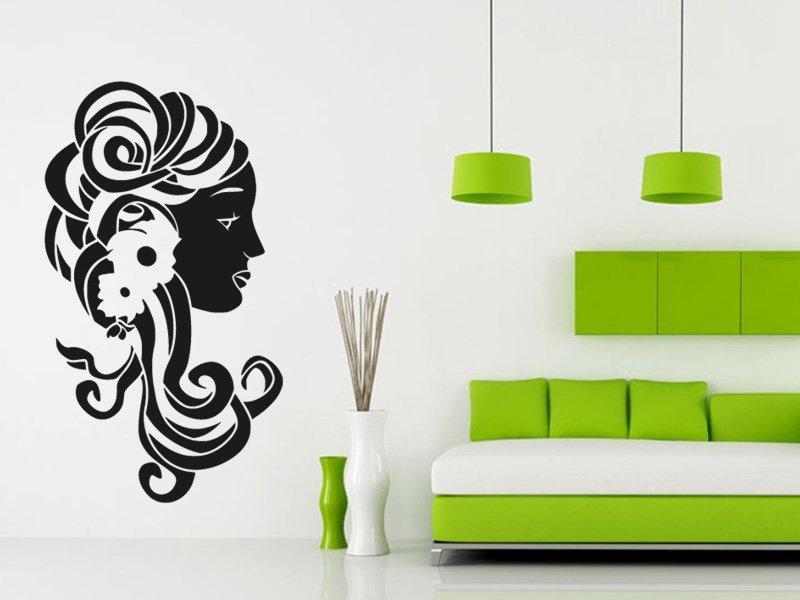 Samolepky na zeď Žena 008 - Samolepící dekorace a nálepka na stěnu