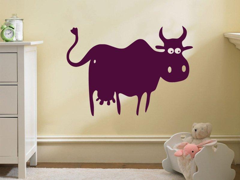 Samolepky na zeď Kráva 004 - Samolepící dekorace a nálepka na stěnu