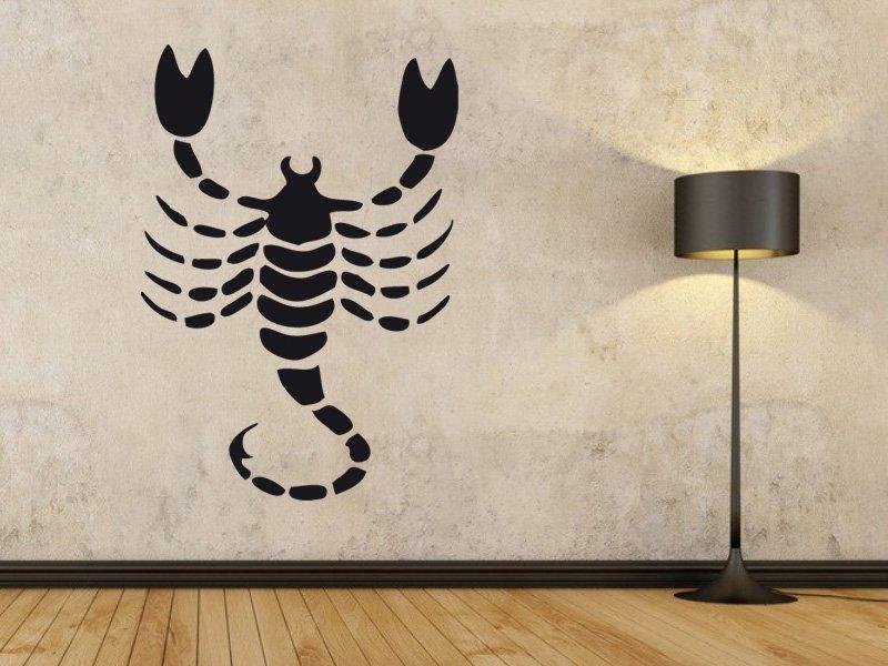 Samolepky na zeď Škorpión 003 - Samolepící dekorace a nálepka na stěnu