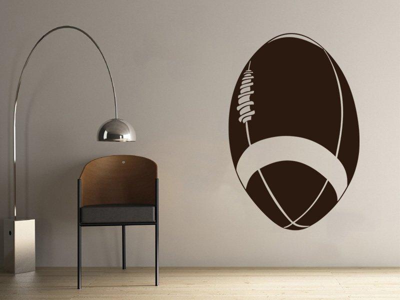 Samolepky na zeď Americký fotbal 007 - Samolepící dekorace a nálepka na stěnu
