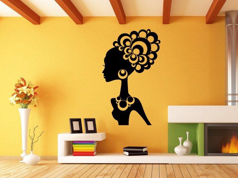 Samolepky na zeď Žena 035 - Samolepící dekorace a nálepka na stěnu