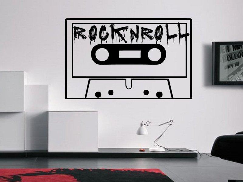 Samolepky na zeď Rock And Roll 002 - Samolepící dekorace a nálepka na stěnu
