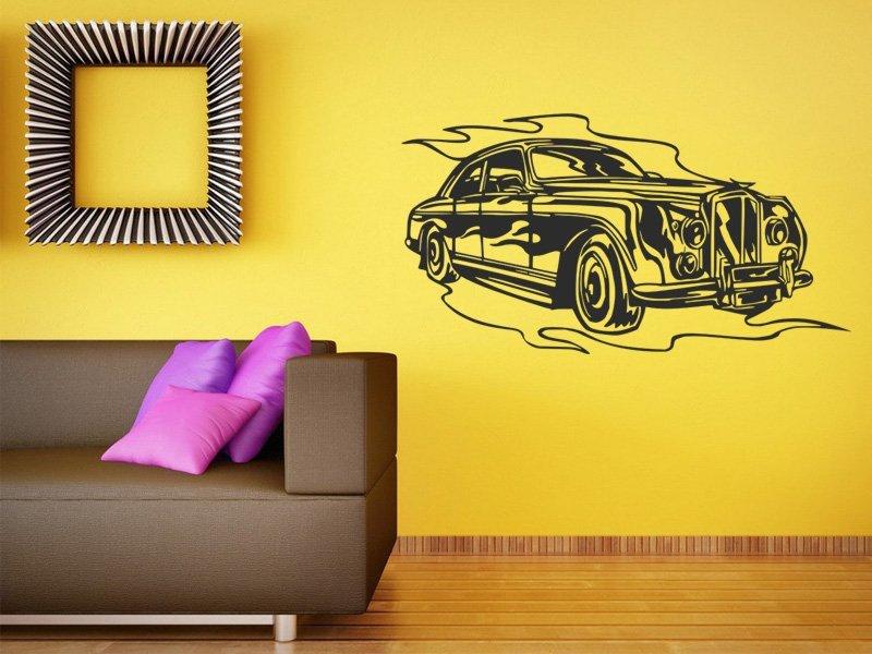 Samolepky na zeď Auto 040 - Samolepící dekorace a nálepka na stěnu