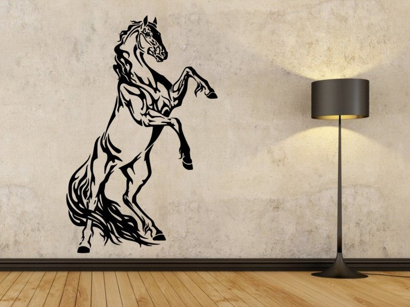 Samolepky na zeď Kůň 0321 - Samolepící dekorace a nálepka na stěnu