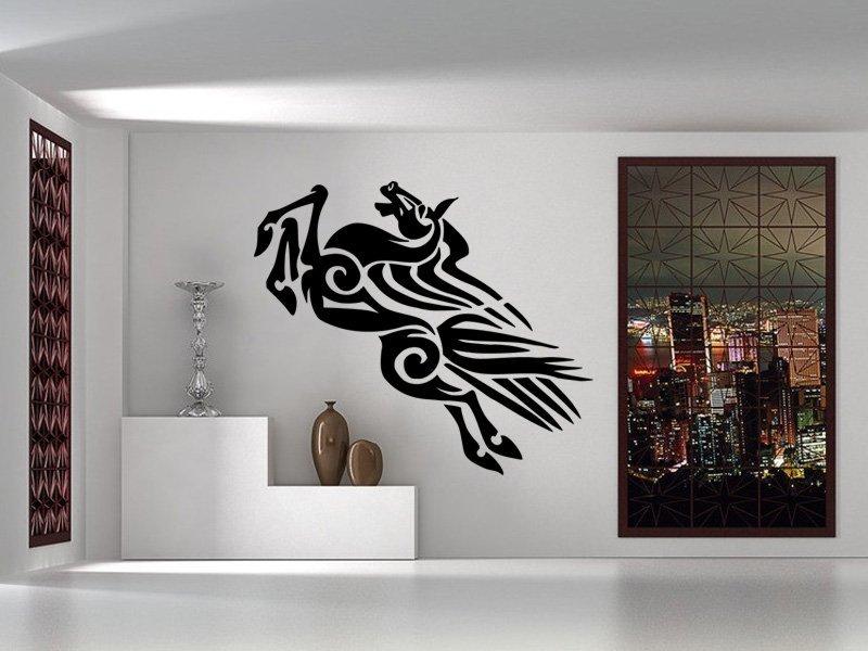 Samolepky na zeď Kůň 0342 - Samolepící dekorace a nálepka na stěnu