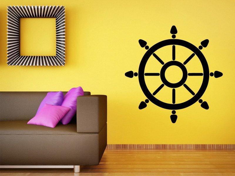 Samolepky na zeď Kormidlo 003 - Samolepící dekorace a nálepka na stěnu