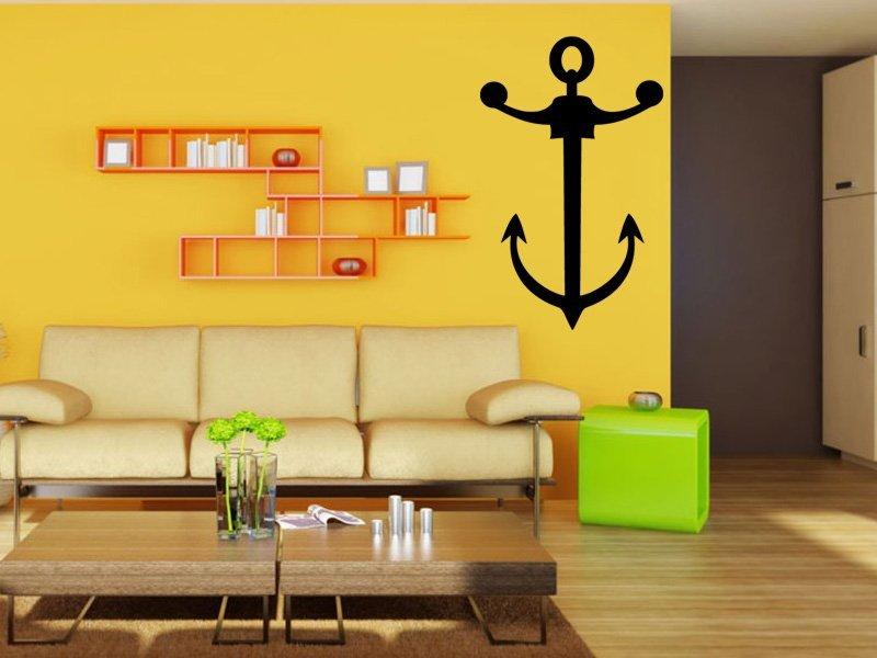 Samolepky na zeď Kotva 001 - Samolepící dekorace a nálepka na stěnu