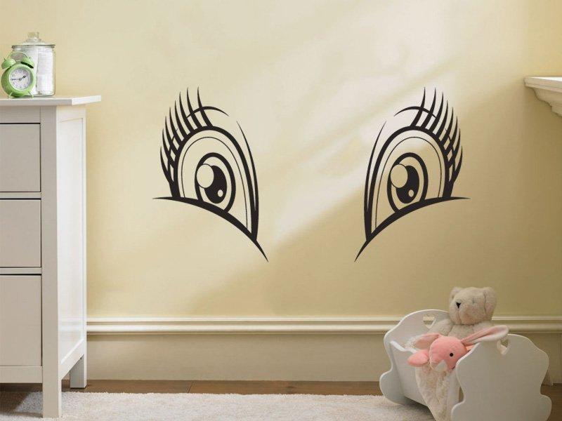 Samolepky na zeď Potvůrky 014 - Samolepící dekorace a nálepka na stěnu