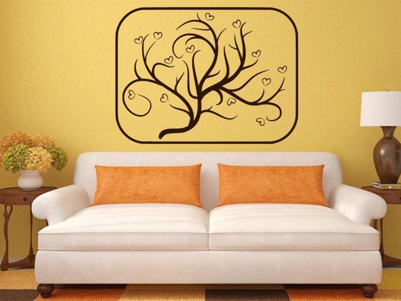 Samolepky na zeď Strom 028 - Samolepící dekorace a nálepka na stěnu