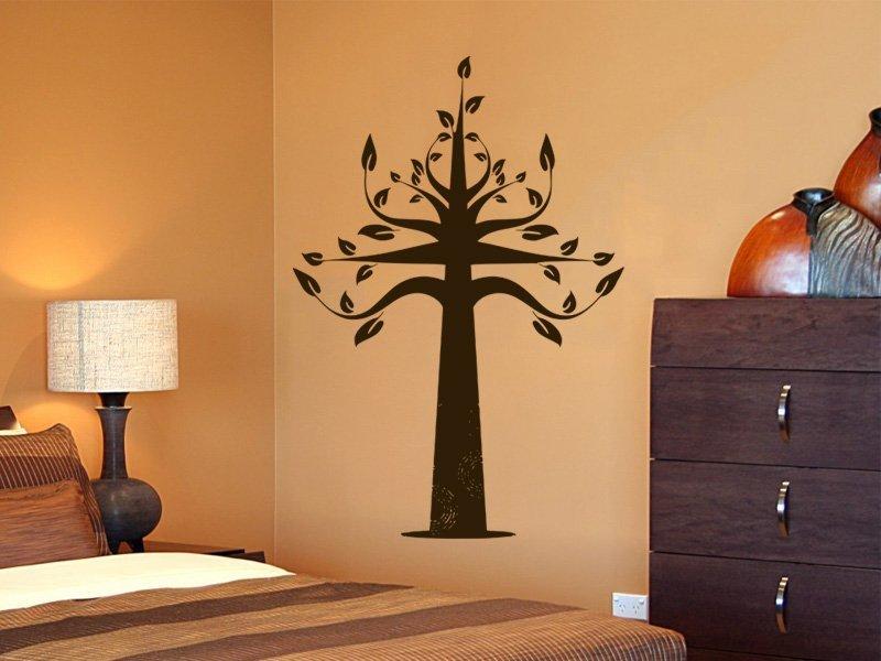 Samolepky na zeď Strom 056 - Samolepící dekorace a nálepka na stěnu