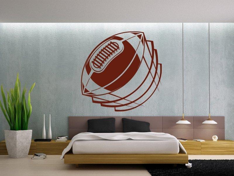 Samolepky na zeď Americký fotbal 004 - Samolepící dekorace a nálepka na stěnu