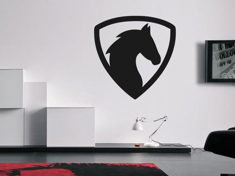 Samolepky na zeď Kůň 0319 - Samolepící dekorace a nálepka na stěnu