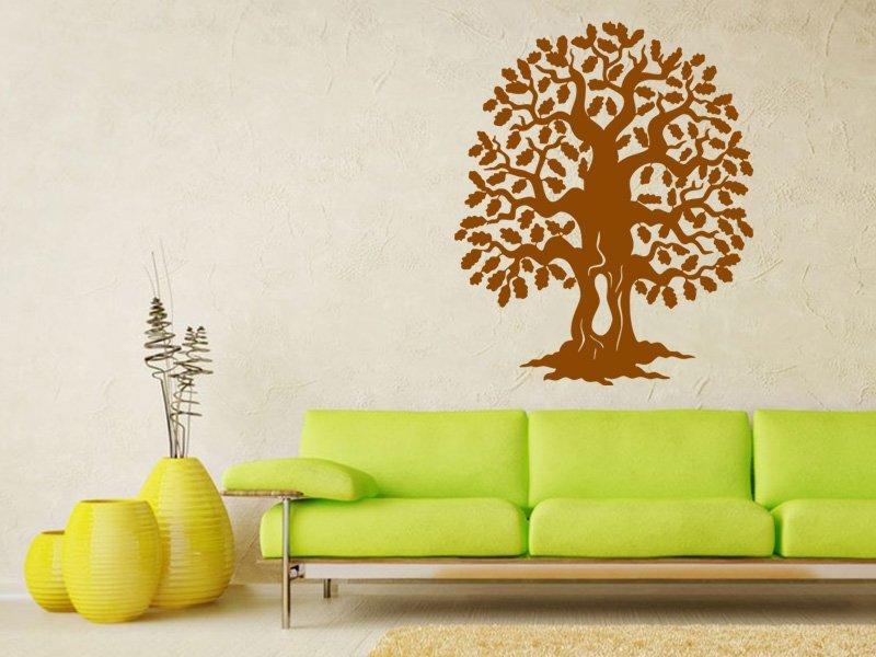 Samolepky na zeď Strom 009 - Samolepící dekorace a nálepka na stěnu