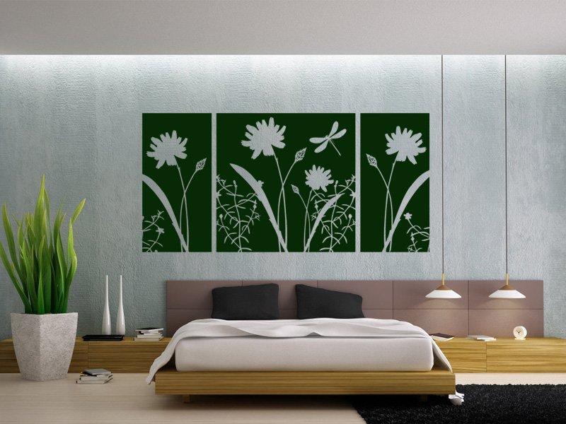 Samolepky na zeď Květiny 010