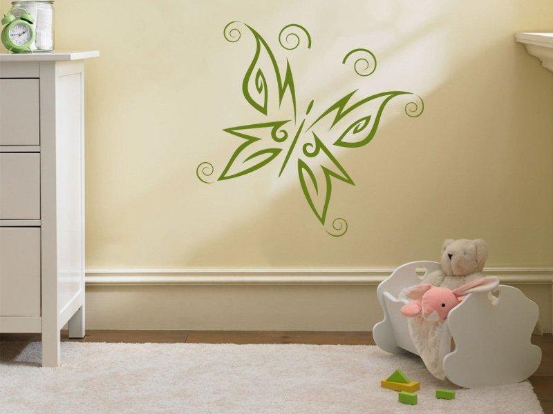 Samolepky na zeď Motýl 002 - Samolepící dekorace a nálepka na stěnu