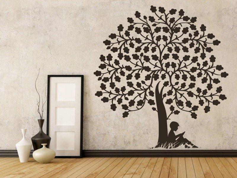 Samolepky na zeď Strom 070 - Samolepící dekorace a nálepka na stěnu