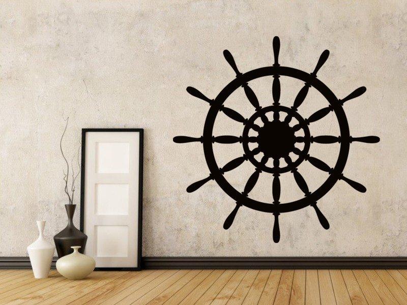 Samolepky na zeď Kormidlo 001 - Samolepící dekorace a nálepka na stěnu