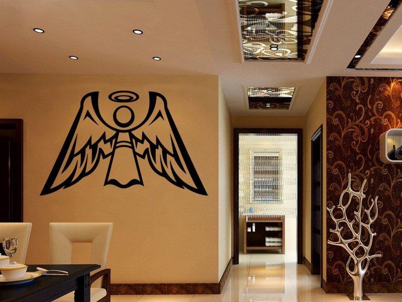 Samolepky na zeď Anděl s křídly 1245 - Samolepící dekorace a nálepka na stěnu