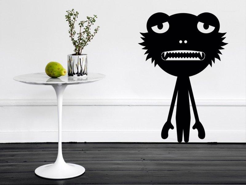 Samolepky na zeď Potvůrky 008 - Samolepící dekorace a nálepka na stěnu