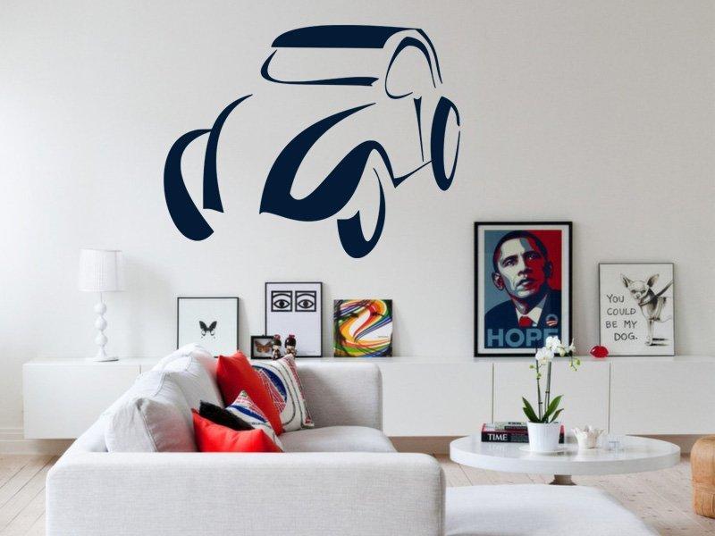 Samolepky na zeď Auto 034 - Samolepící dekorace a nálepka na stěnu