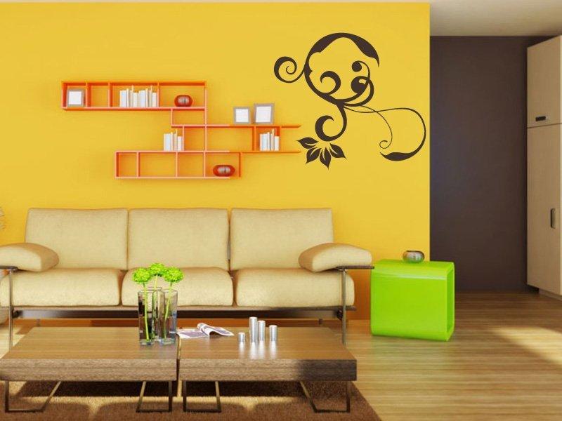 Samolepky na zeď Rostlina 006 - Samolepící dekorace a nálepka na stěnu