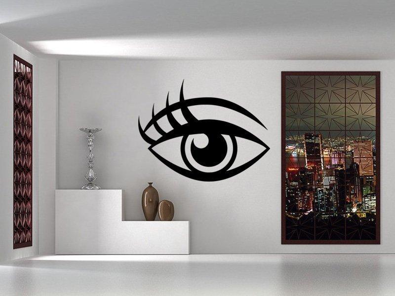 Samolepky na zeď Oko 002 - Samolepící dekorace a nálepka na stěnu