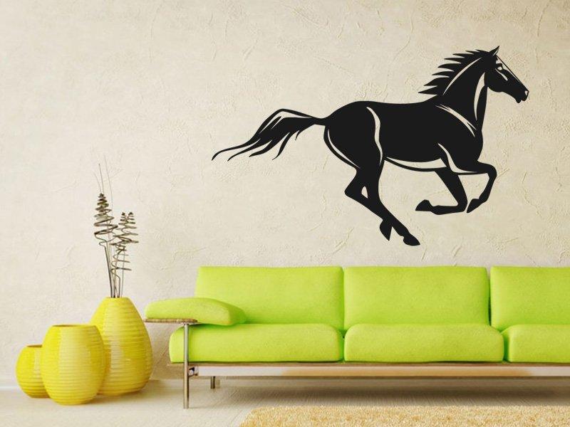 Samolepky na zeď Kůň 0353 - Samolepící dekorace a nálepka na stěnu