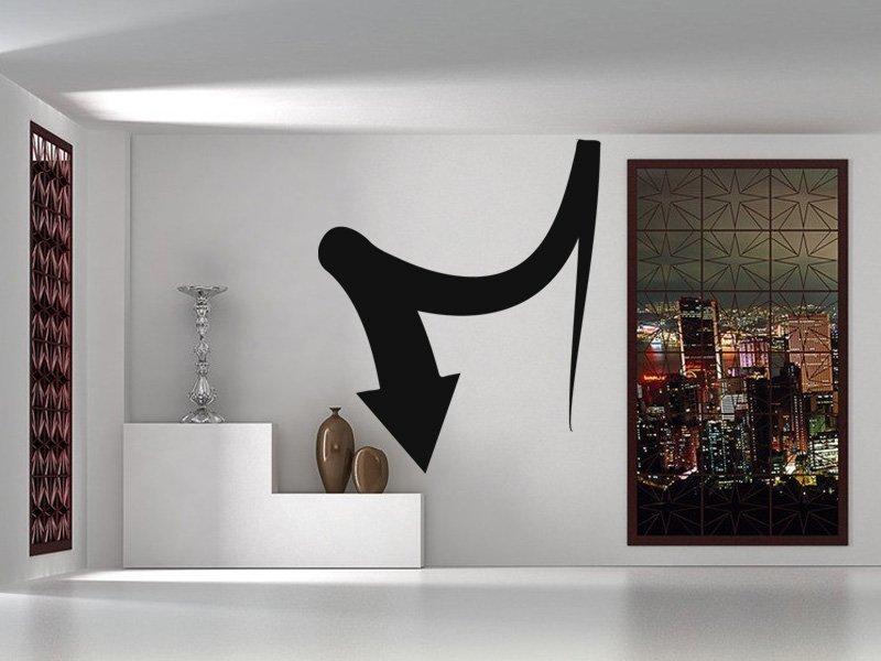 Samolepky na zeď Šipka 042 - Samolepící dekorace a nálepka na stěnu