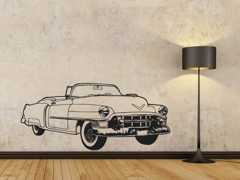 Samolepky na zeď Auto 004 - Samolepící dekorace a nálepka na stěnu