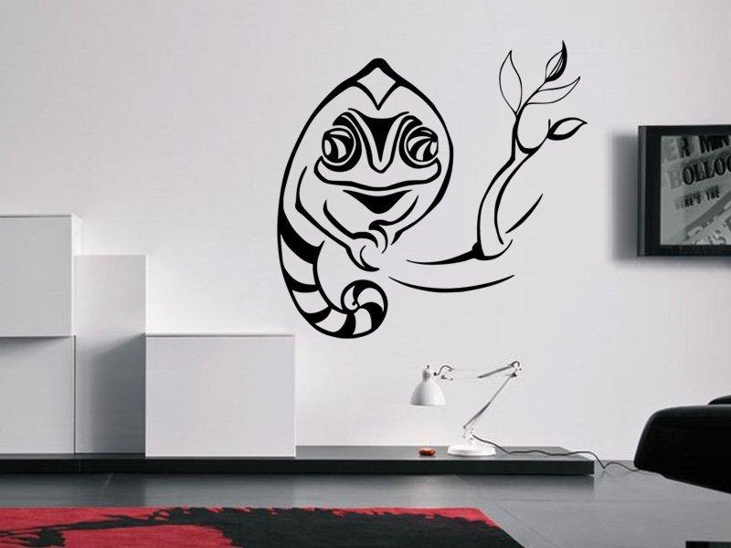 Samolepky na zeď Chameleon 004 - Samolepící dekorace a nálepka na stěnu