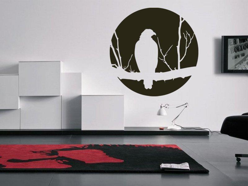Samolepky na zeď Pták 002 - Samolepící dekorace a nálepka na stěnu