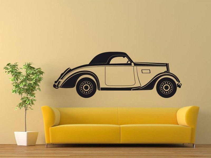 Samolepky na zeď Auto 012 - Samolepící dekorace a nálepka na stěnu