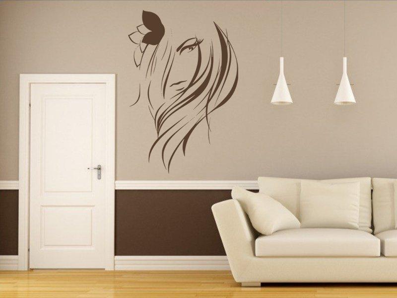Samolepky na zeď Žena 019 - Samolepící dekorace a nálepka na stěnu