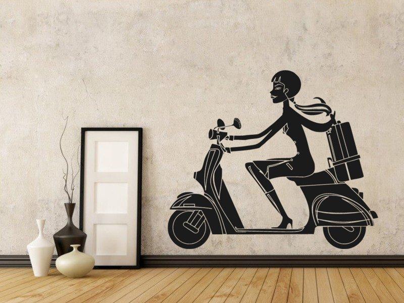 Samolepky na zeď Žena 027 - Samolepící dekorace a nálepka na stěnu