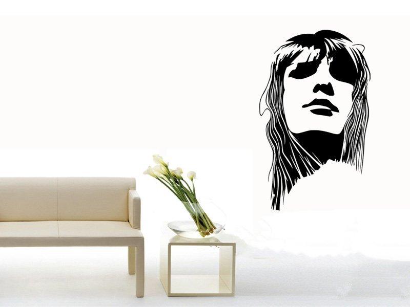 Samolepky na zeď Žena 002 - Samolepící dekorace a nálepka na stěnu