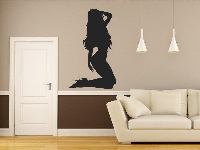 Samolepky na zeď Sexy tanečnice 003 - Samolepící dekorace a nálepka na stěnu
