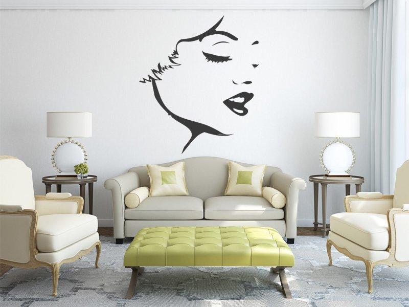 Samolepky na zeď Žena 042 - Samolepící dekorace a nálepka na stěnu