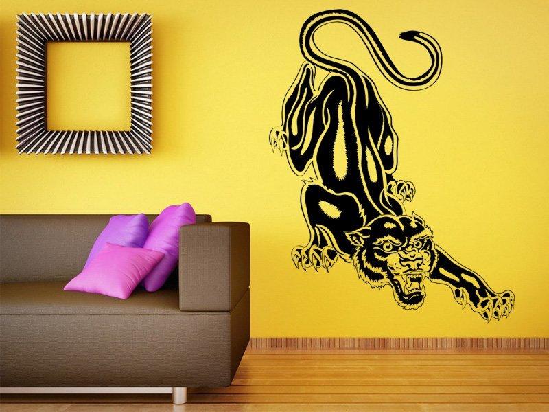 Samolepky na zeď Jaguár 001 - Samolepící dekorace a nálepka na stěnu