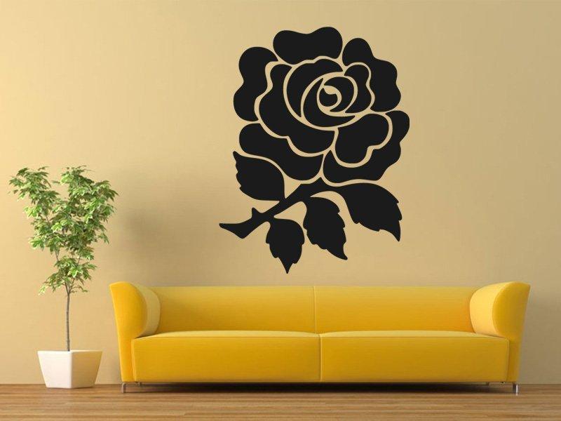Samolepky na zeď Růže 0200 - Samolepící dekorace a nálepka na stěnu
