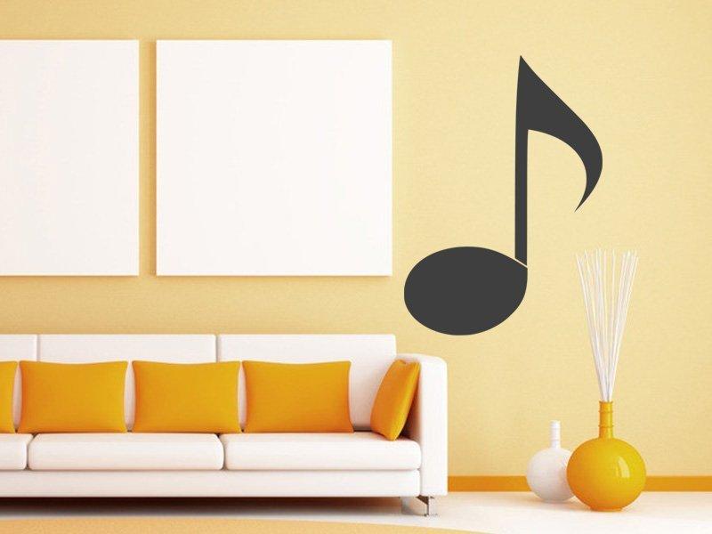 Samolepky na zeď Noty 008 - Samolepící dekorace a nálepka na stěnu
