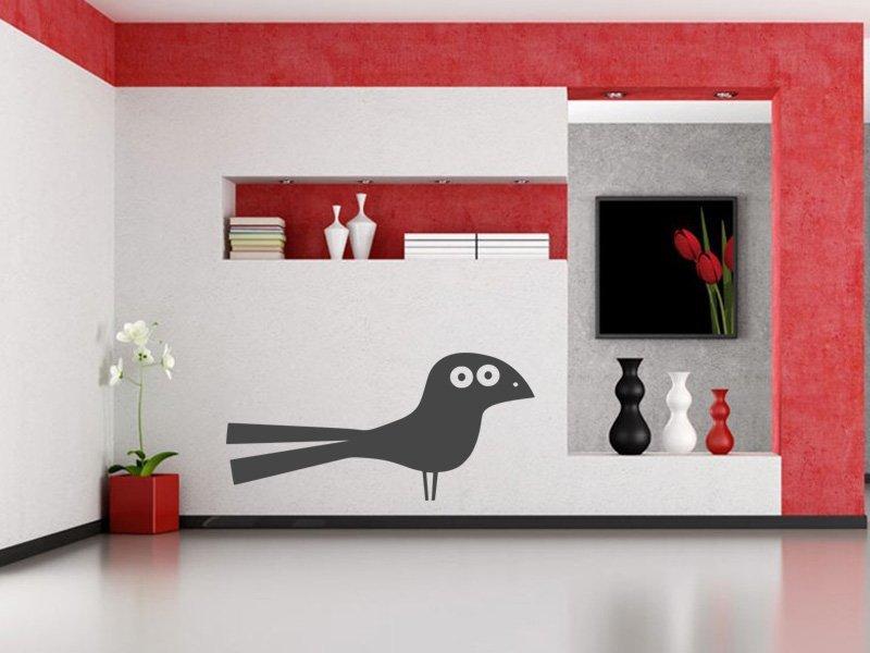 Samolepky na zeď Pták 019 - Samolepící dekorace a nálepka na stěnu