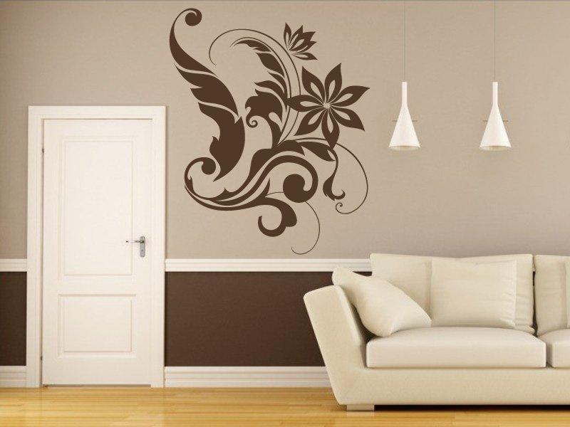 Samolepky na zeď Rostlina 005 - Samolepící dekorace a nálepka na stěnu