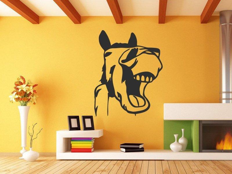 Samolepky na zeď Kůň 010 - Samolepící dekorace a nálepka na stěnu