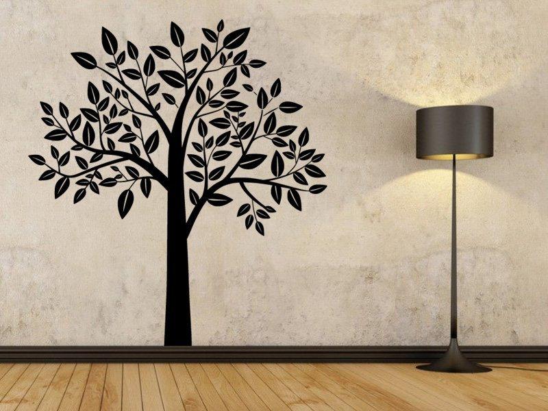 Samolepky na zeď Strom 0218 - Samolepící dekorace a nálepka na stěnu