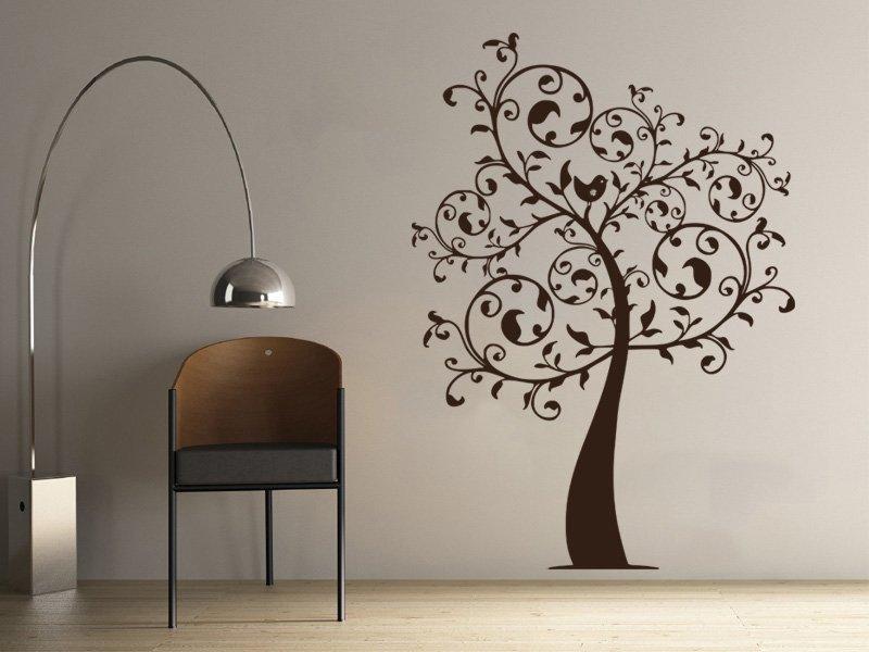 Samolepky na zeď Strom 058 - Samolepící dekorace a nálepka na stěnu