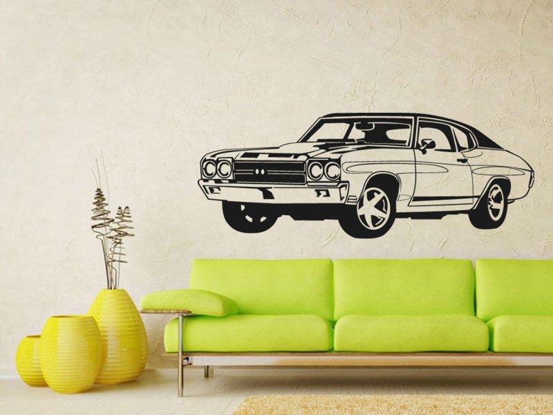 Samolepky na zeď Auto 010 - Samolepící dekorace a nálepka na stěnu