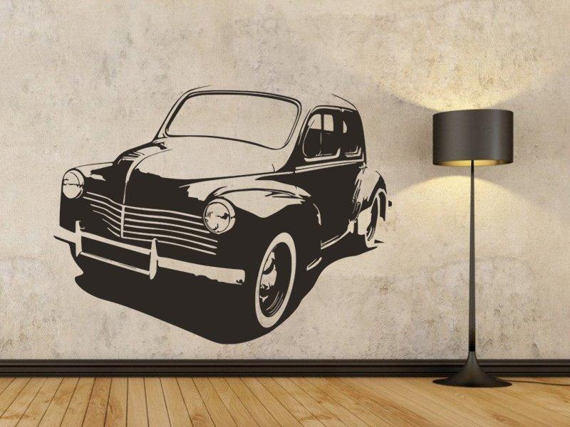Samolepky na zeď Auto 043 - Samolepící dekorace a nálepka na stěnu